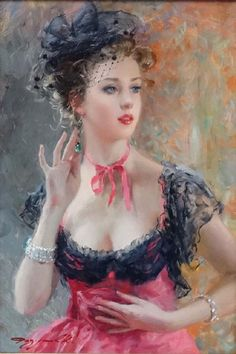 Lot: Konstantin Razumov (b.1974) Russian School, Oil on, Lot Number: 0033, Starting Bid: £3,600, Auctioneer: Dickins Auctioneers Ltd, Auction: Paintings & Prints, Date: April 7th, 2017 MSK