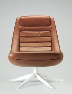 "wickdpleasures reblogged street-popper     calders9:    ""Manzù armchair' designed by Pio Manzù in the 60's #OfficeChair"