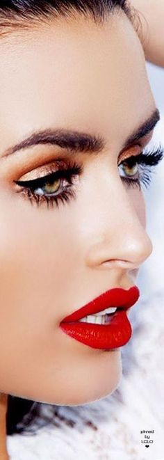 Red Lip Beauty