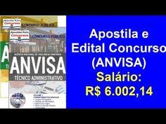 Edital Apostila Concurso Público (ANVISA) Técnico Administrativo 2016…