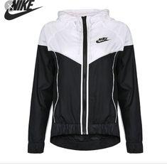 9907988d4c Original New Arrival 2018 NIKE Women s Jacket Hooded Sportswear(China)