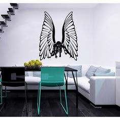 24 by 32 ArtWall Marina Petros Dancing Angels Art Appeelz Removable Wall Art Graphic
