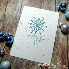 Karten-Kunst » Schneeflocken Weihnachtspost