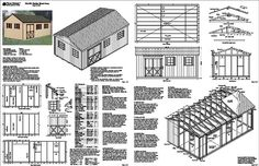 Diy Shed Kit - Free shed plans #DIY #Shed #Kit #woodworking #plans
