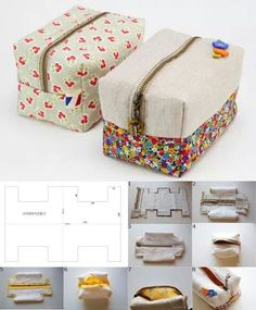 Sewing machine bag couture 39 new Ideas Sewing Hacks, Sewing Tutorials, Sewing Crafts, Sewing Projects, Sewing Tips, Bag Patterns To Sew, Sewing Patterns, Pattern Sewing, Diy Pencil Case