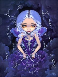 """Dress Storm"" by Jasmine Becket-Griffith"