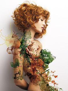 Flower Power - SPRING/SUMMER - Estetica Online - The Hairstyling Website
