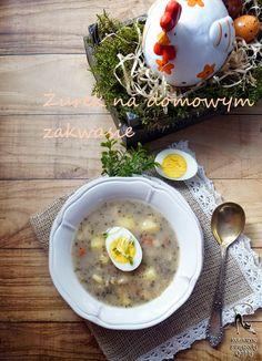 Kulinarne przygody Gatity: Żurek na domowym zakwasie