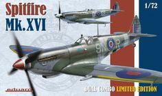 Eduard 2117 1:72nd scale Spitfire Mk.XVI Dual Combo Limited Edition Kits #Eduard