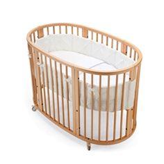STOKKE SLEEPI Crib Bedding set Classic White