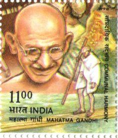 Mahatma Gandhi Album: Mahatma Gandhi Stamps