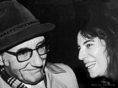 William-S-Burroughs + Patty Smith