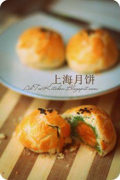 上海月饼 Mid-Autumn Shanghai mooncake