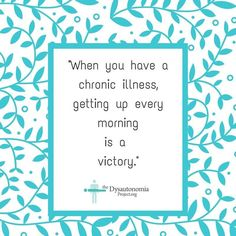 A Day With Dysautonomia