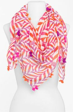 Collection XIIX 'Brazilian Geo' Square Scarf | Nordstrom