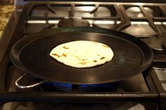 Traditional Mexican Cookware: Comal -- it is a flat griddle that can be made out of clay, tin, or cast iron and is used to cook tortillas and to roast or grill vegetables.
