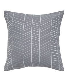 Take a look at this Blue & White Herringbone Transitional Pillow by Rizzy Home on #zulily today! $29.99, regular 53.00