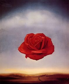 "Love this painting. ""Meditative Rose"" by Salvador Dali. I need to get a print, I lost my poster."