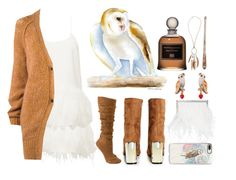 """Spirit Animals (Owl)"" by ubiquitous-merkaba ❤ liked on Polyvore featuring Jimmy Choo, TIBI, Forte Forte, Boohoo, Casetify, Serge Lutens, Les Néréides and Dorothy Perkins"