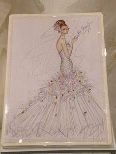 Flowerbomb at the VA http://www.ianstuart-bride.com/dress/flower-bomb/