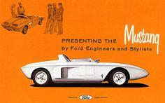 1962 Ford Mustang I Concept Car Brochure