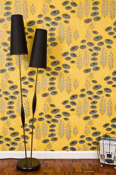 MissPrint Sunbeam Navajo Wallpaper - - MissPrint from eggcup & blanket UK Interior Wallpaper, Lit Wallpaper, Wallpaper Online, Bathroom Wallpaper, Kitchen Retro Wallpaper, Navajo, Flower Power, Tableaux D'inspiration, Floral Pattern Wallpaper