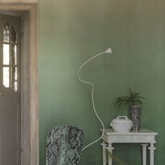 Tapeta Designers Guild Patterned Wallpaper Vol. I P600/07 Saraille Pale Jade