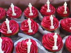 Night at the Oscars Cupcakes