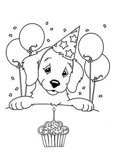 birthday - coloring page   happy birthday coloring pages ... - Birthday Coloring Pages Daddy