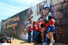 """Diva de la Banda,"" Jenni Rivera has a memorial in her name in Long Beach, CA."