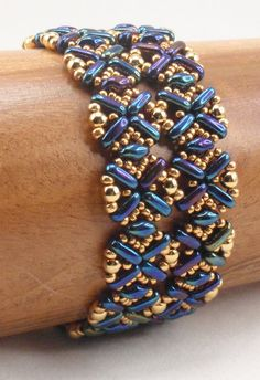 Instructions for Flatiron Bracelet Beading by njdesigns1 on Etsy