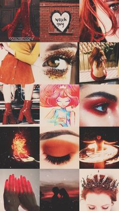 Aesthetic Collage, Red Aesthetic, Character Aesthetic, Tumblr Wallpaper, Cartoon Wallpaper, Iphone Wallpaper Pinterest, Les Winx, Bloom Winx Club, Twitter Backgrounds