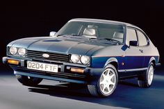 Vintage Motorcycles The car you always promised yourself. THE car industry had been going through some liberating times during the Fuel was plentiful and cheap, and t Ford Capri, Ford Rs, Car Ford, Retro Cars, Vintage Cars, Vintage Ideas, Mustang, 4x4, Ford Motorsport