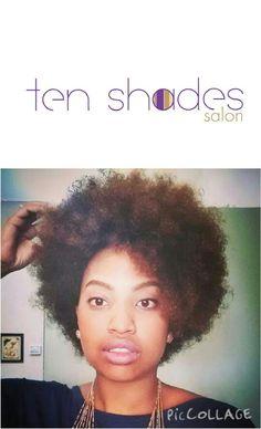 Natural hair shaping
