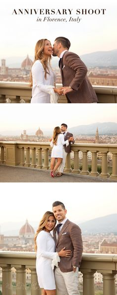 Anniversary Photoshoot in Florence, Italy in the historical center and the hills. #Florence #Photoshoot #Portraits