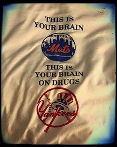 Mets Yanks Rivalry Brain