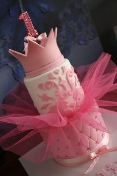 Princess Tutu Birthday Cake ~ so cute!