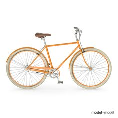 Bike Bicycle 3D Obj - 3D Model