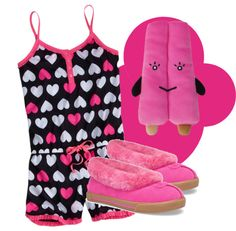 """festa do pijama 2"" by vida-em-londres on Polyvore"