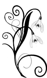 Snowdrop flower. I want something similar for Carter. This is his birthmonth flower. In my half sleeve tattoo