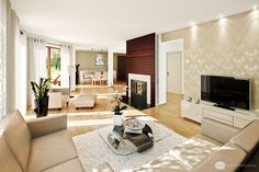 Living Room Design Ideas Photos Fireplace