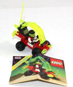 Lego Space M Tron Beacon Tracer 6833 Vintage 1990 Minifig Instructions | eBay