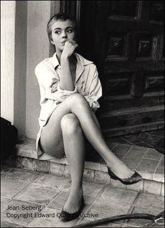 fashion loves film: Jean Seberg