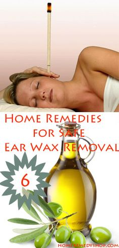 6 Home #Remedies for Safe wax removal