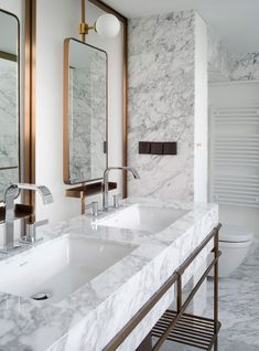 Get inspired by our best bathroom design ever. ... 25 Ideas That Make Small Bathrooms Feel Bigger. Before you contemplate moving, you need to check out this