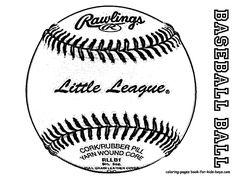29 best Brawny Baseball Coloring Pages images on Pinterest ...