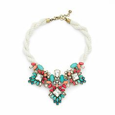 Just fell in love with the Jeweled Rope Necklace for $88 on C. Wonder!