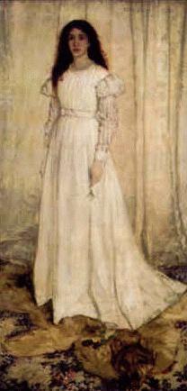 The White Girl (Symphony in White, No. 1): James McNeil Whistler