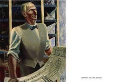 LARS BACKER Abraham Lincoln, Architecture, Painting, Art, Arquitetura, Art Background, Painting Art, Kunst, Paintings