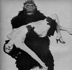 Time for the Ape of the Day!  Fun fact: Though the average minion saved the snarling for when the abductee was conscious, Bruku believed in getting in character and staying there.